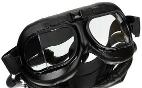 GAFAS MOTERO COMPLETAMENTE NEGRO AIR FORCE