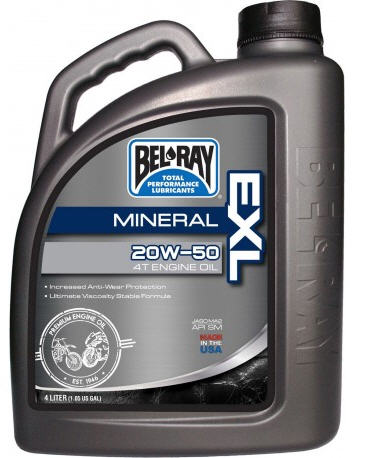 BEL-RAY ACEITE 20W50 4L MINERAL