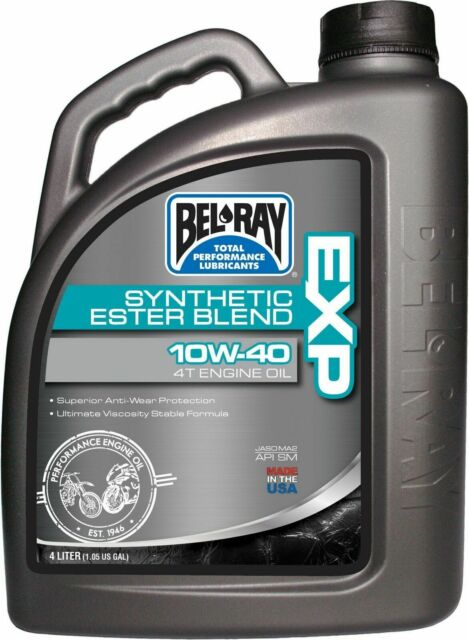 BEL-RAY ENGINE OIL 10W40 SEMI SYNTHETIC 4L