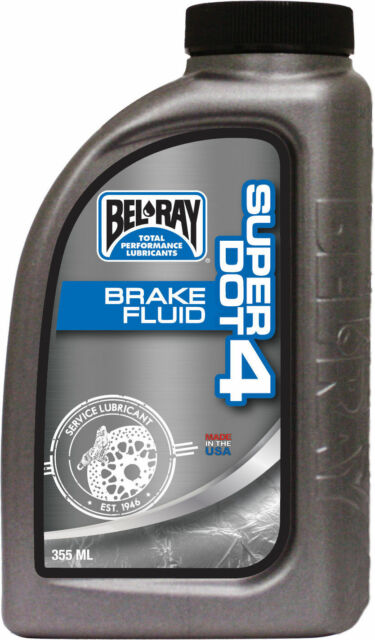 BEL-RAY BRAKE FLUID DOT 4 355ML