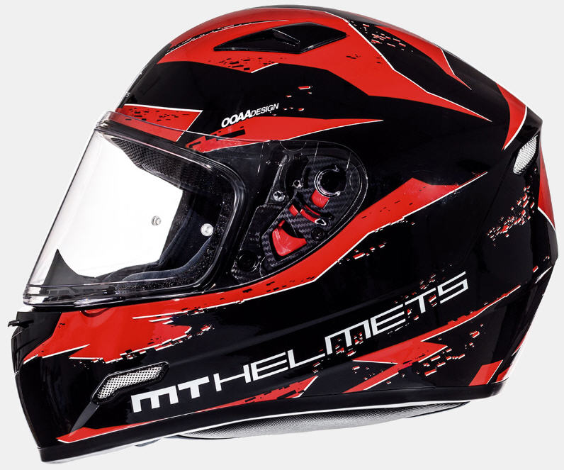 CASCO INTEGRAL MT MUGELLO VAPOR NEGRO/ROJO XL