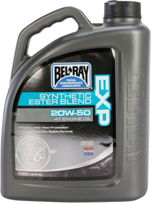 BEL-RAY ACEITE 20W50 4L EXP SINTÉTICO CON ÉSTERES