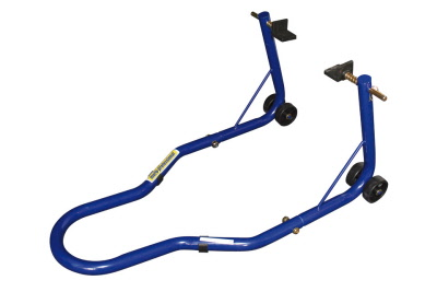 REAR PADDOCK STAND BLUE FOR SWING ARM