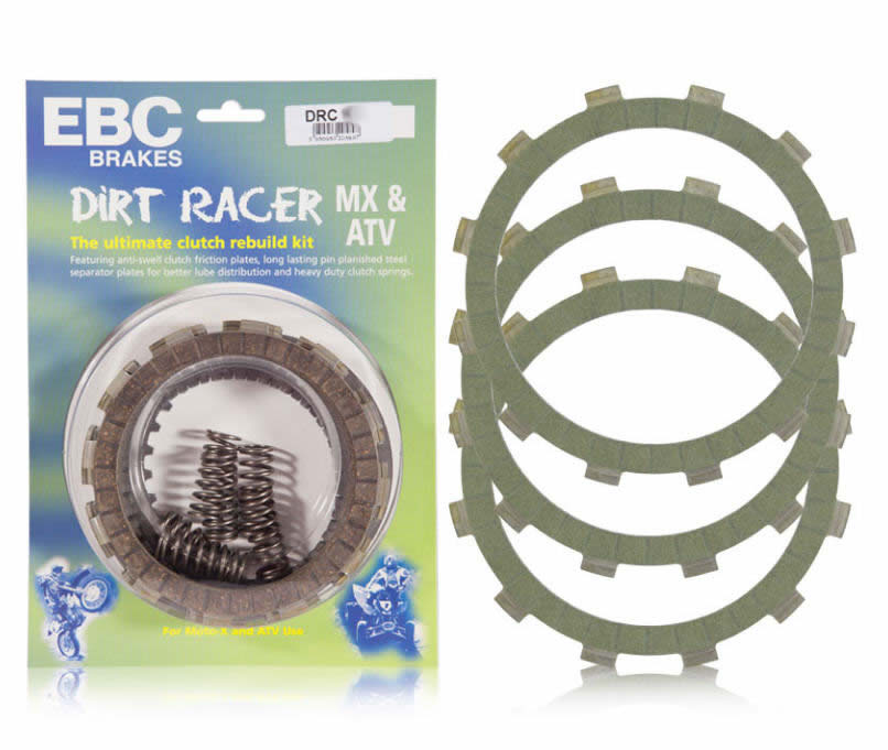 EBC KIT EMBRAGUE CROSS DRC237