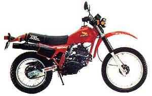 HONDA XL250R(MD03)82-83