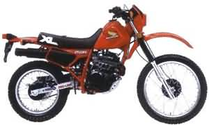 HONDA XL250R(MD11)84-88