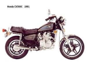 HONDA CX500C(PC01)80-84