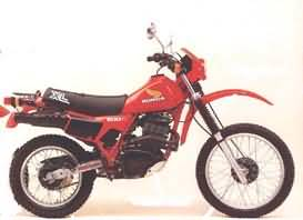 HONDA XL500R(PD02)82-85