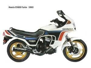 HONDA CX650T(RC16)83-85