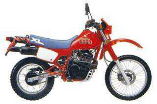 HONDA XL600R(PD03)83-87
