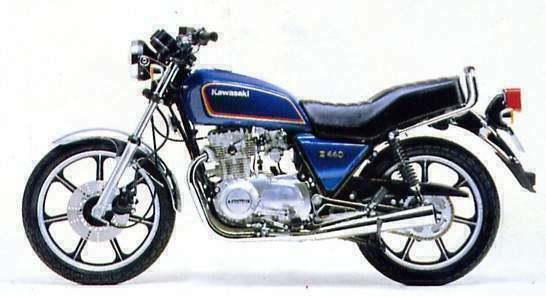 KAWASAKI Z440(H)82-83 : Motopiezas Moraira, your supplier