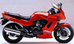 Kawasaki ZRX1100 99-00 Black Brake Lever 13236-1185