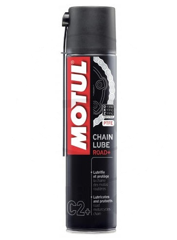 SPRAY CADENA BLANCA MOTUL 400ML C2 ROAD