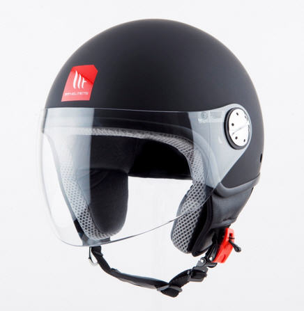 CASCO MT ZYCLO NEGRO MATE XL