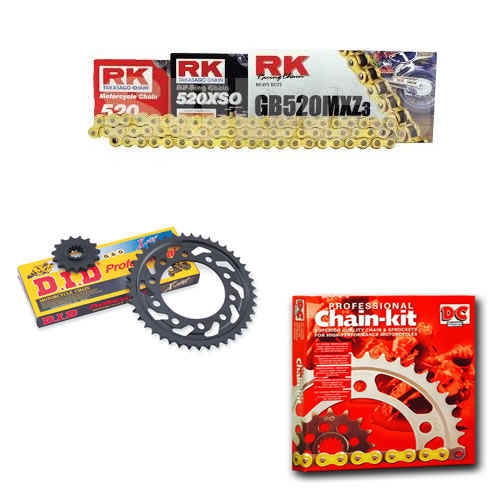 KIT ARRASTRE KAWASAKI AR 125 LC 1982-1994